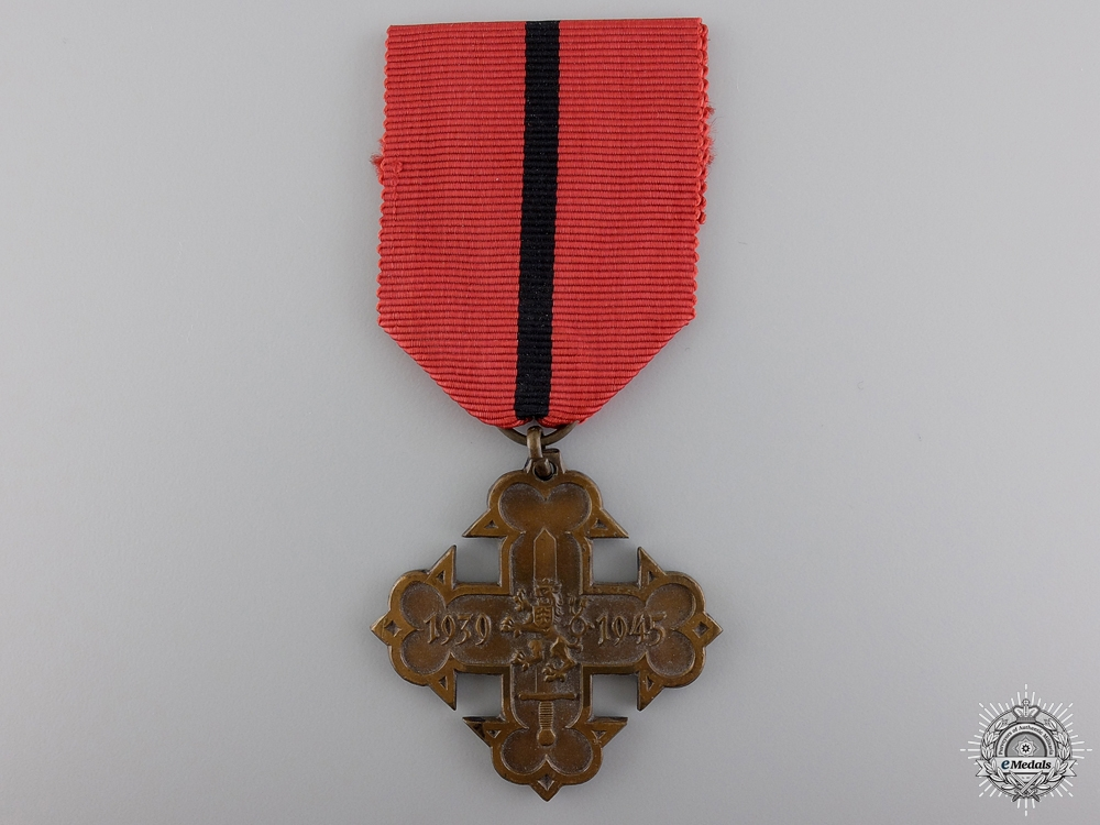 A Second War Czech Volunteer Cross