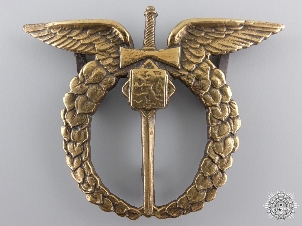 A Second War Czechoslovakian Air Force Pilot Badge