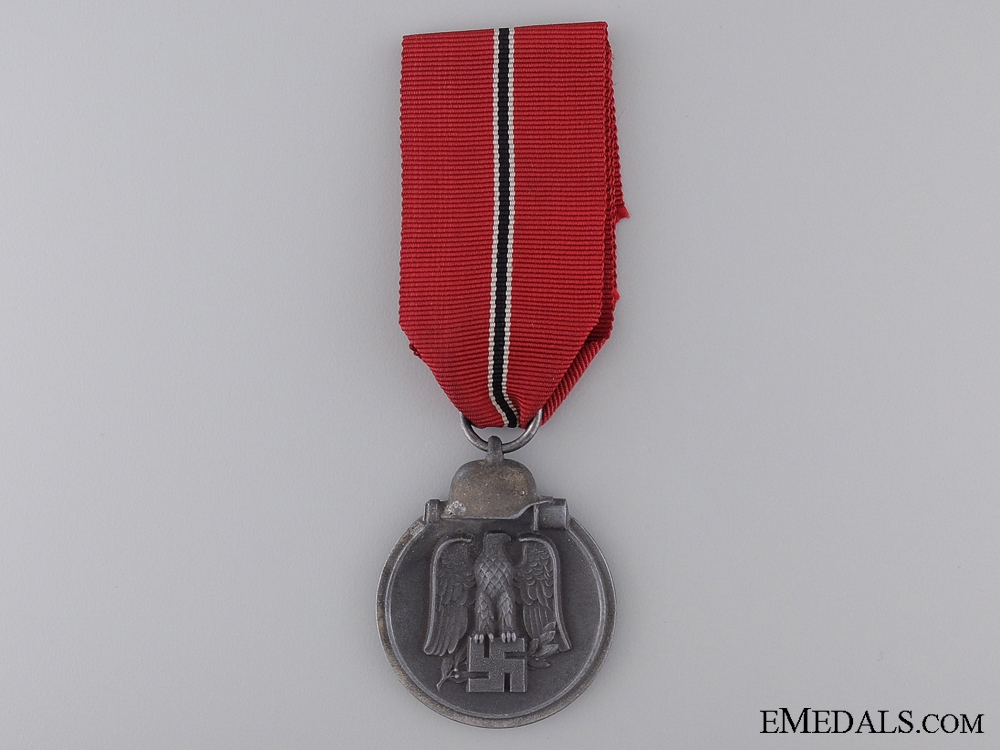 A Second War East Medal 1941/42; Marked 10