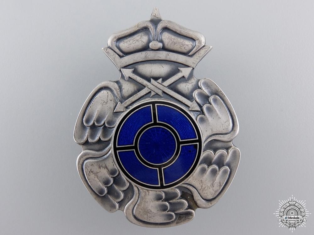 A Second War Finnish Radio Operator & Air Gunner Badge