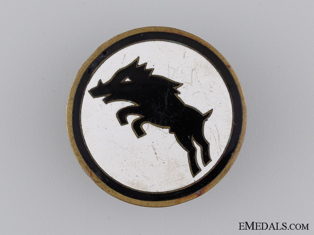 A Second War German Regimental Badge