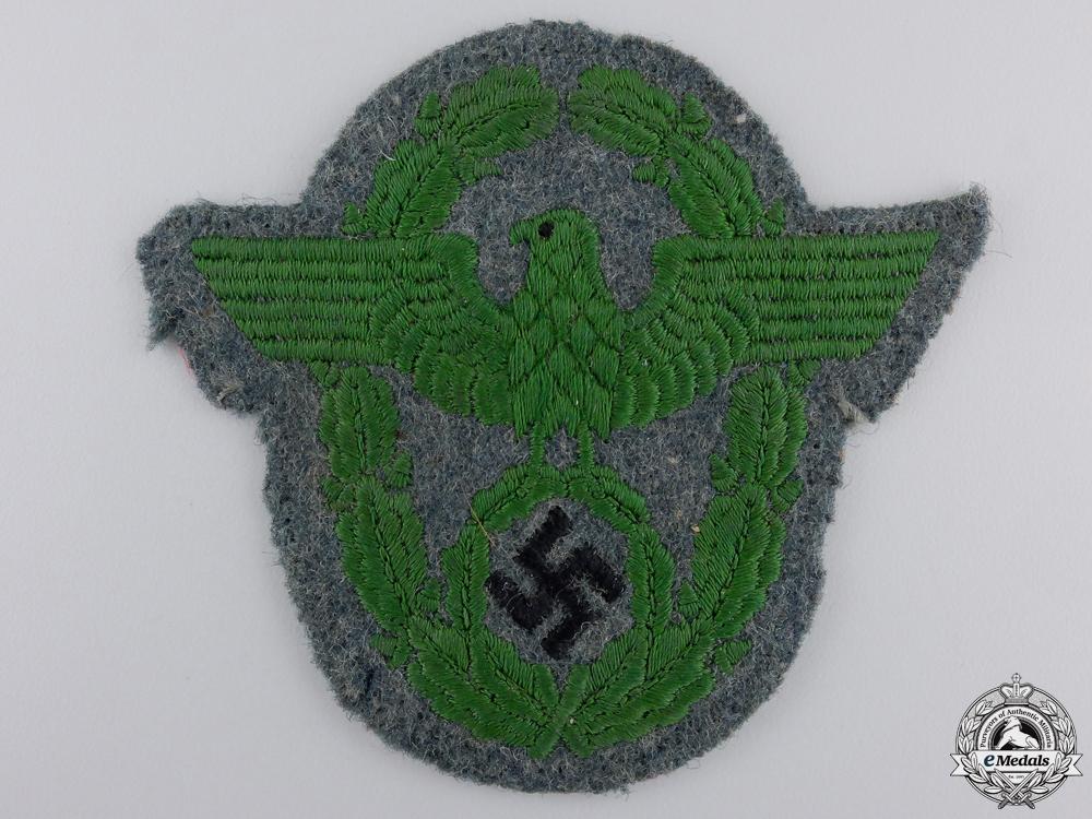 A Second War German Police Sleeve Badge