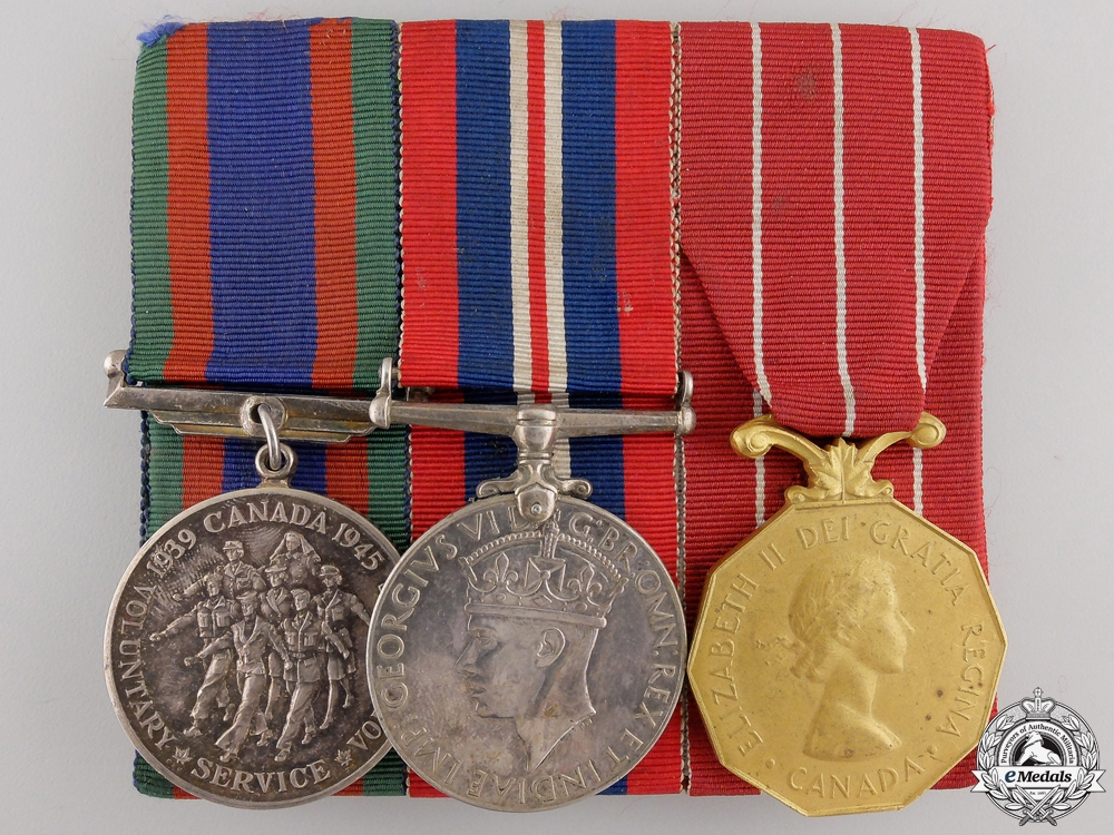 A Second War Group of Three Awards