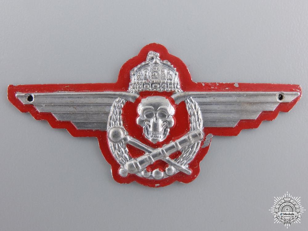 A Second War Hungarian Artillery Badge