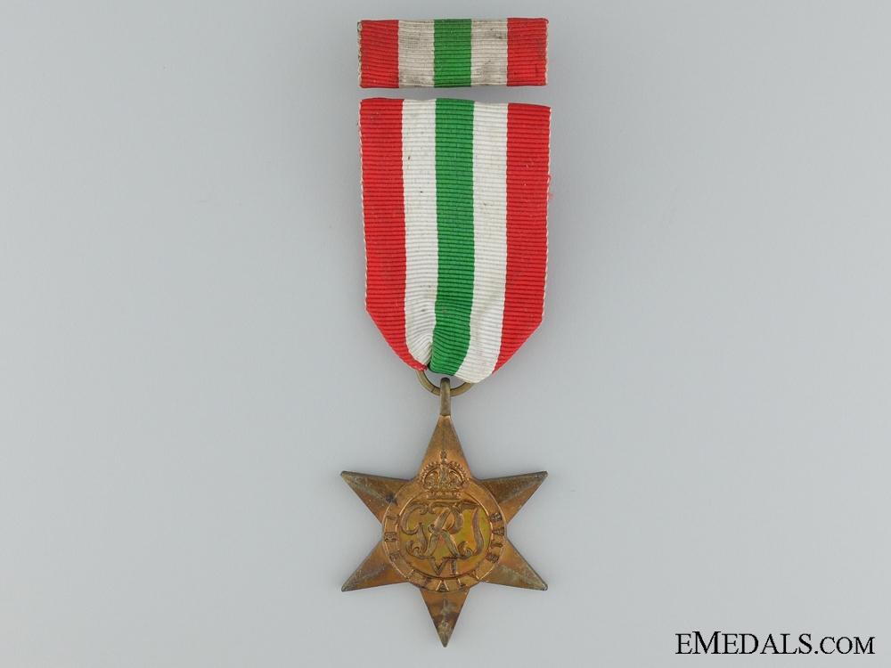 A Second War Italian Campaign Star