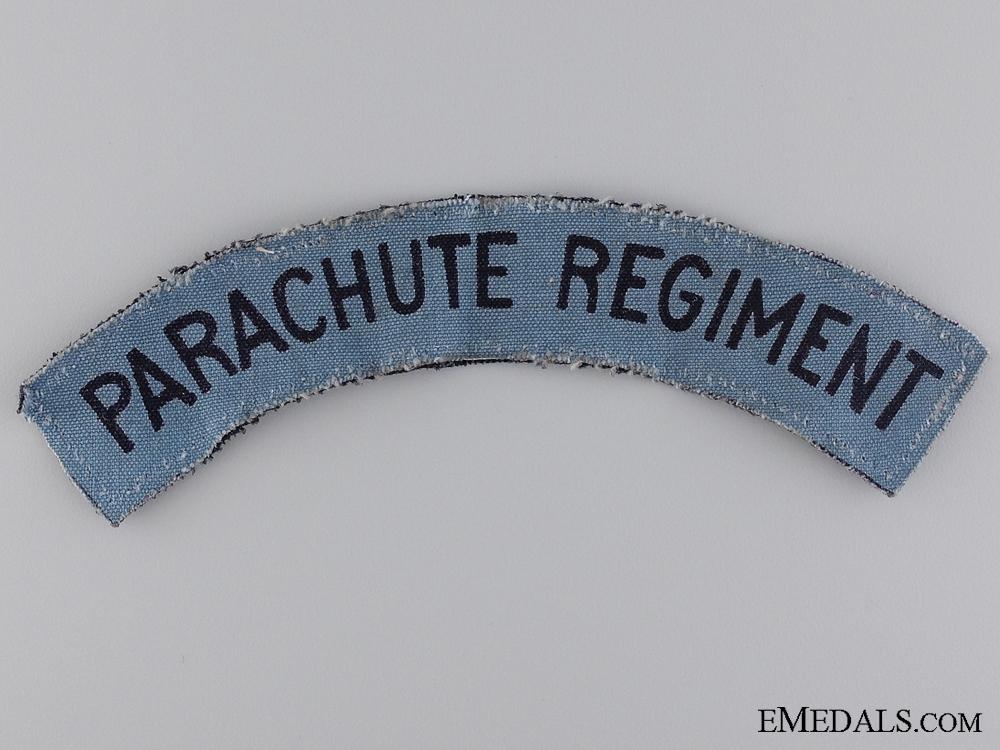 A Second War Parachute Regiment Shoulder Flash