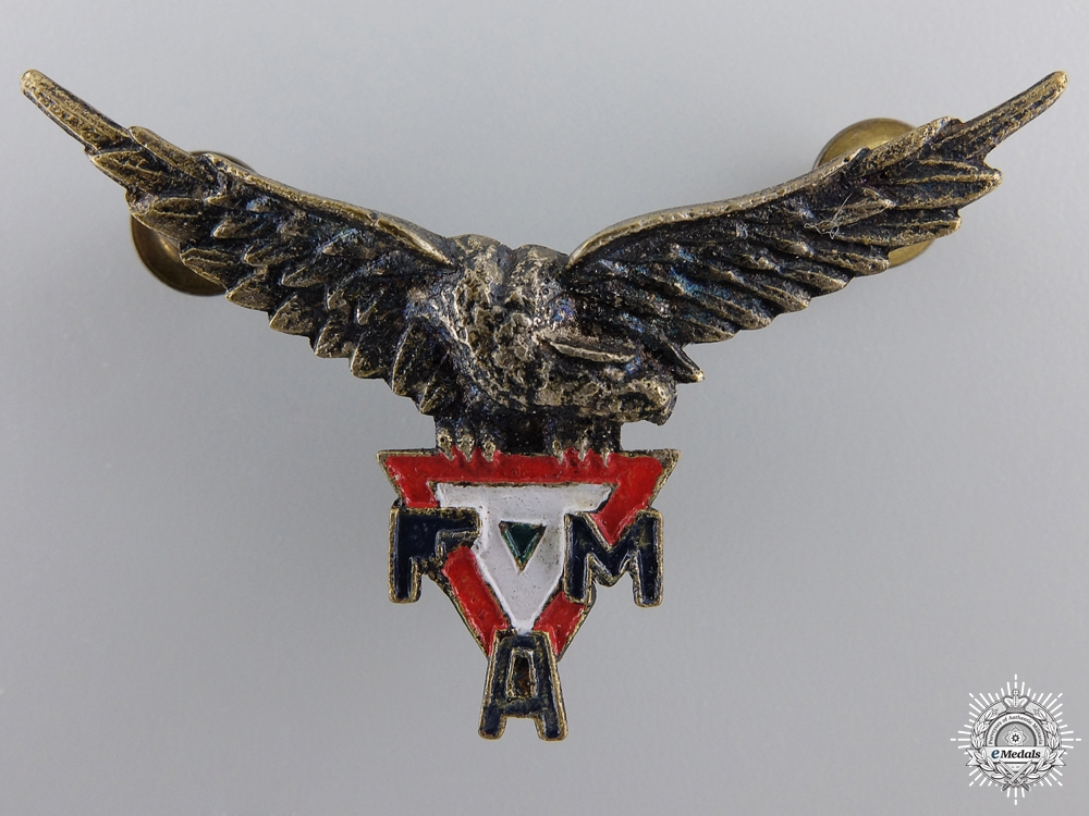 A Second War Period Mexican Pilot Wing