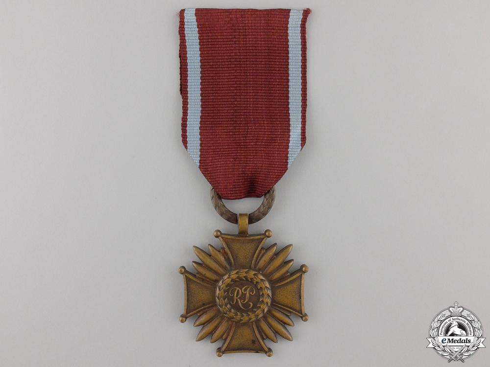 A Second War Polish Merit Cross; Third Class