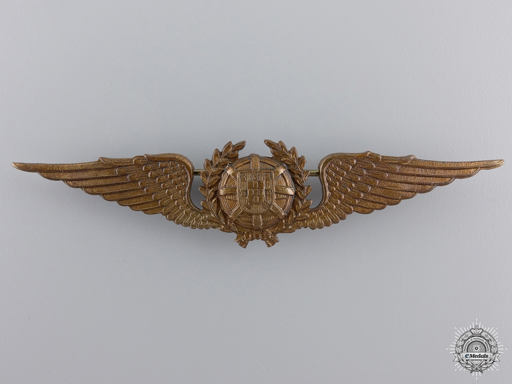 A Second War Portuguese Pilot's Badge