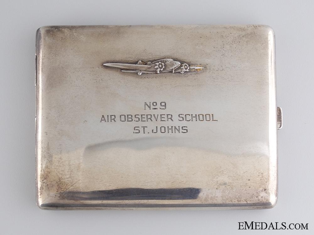 A Second War RCAF No. 9 Air Observer School Case 1944