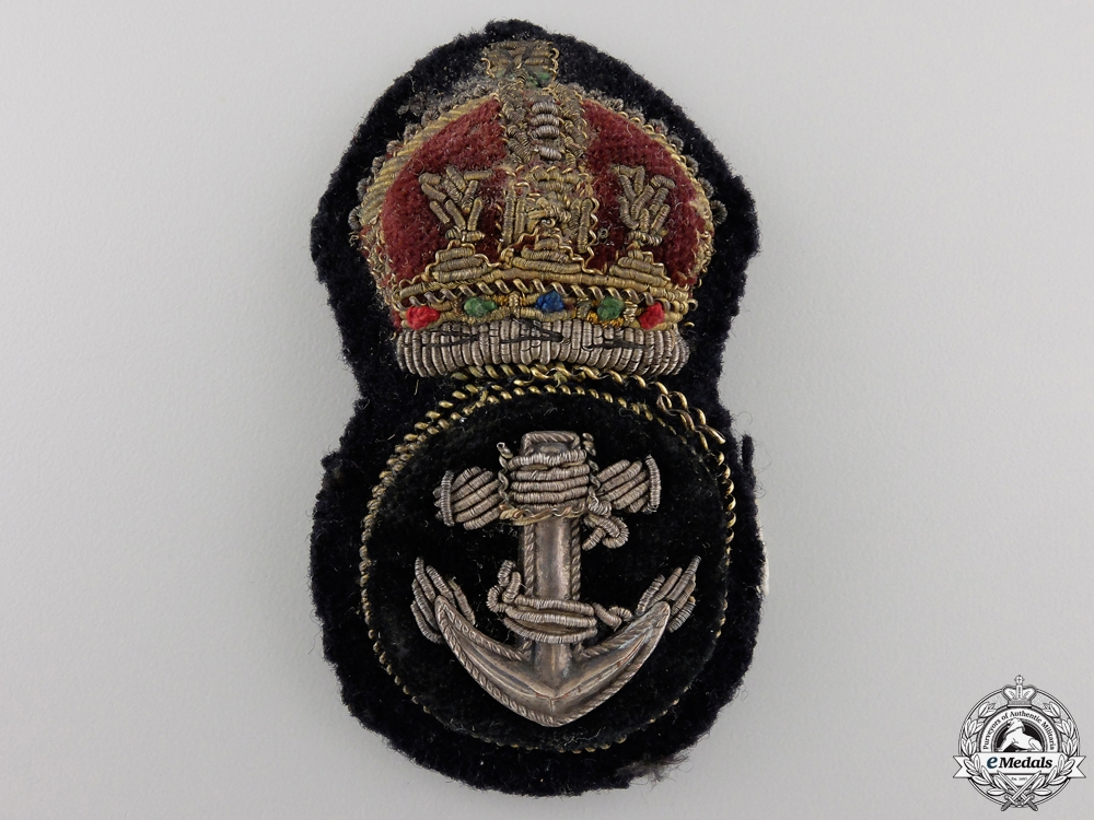 A Second War Royal Canadian Navy Petty Officer's Badge