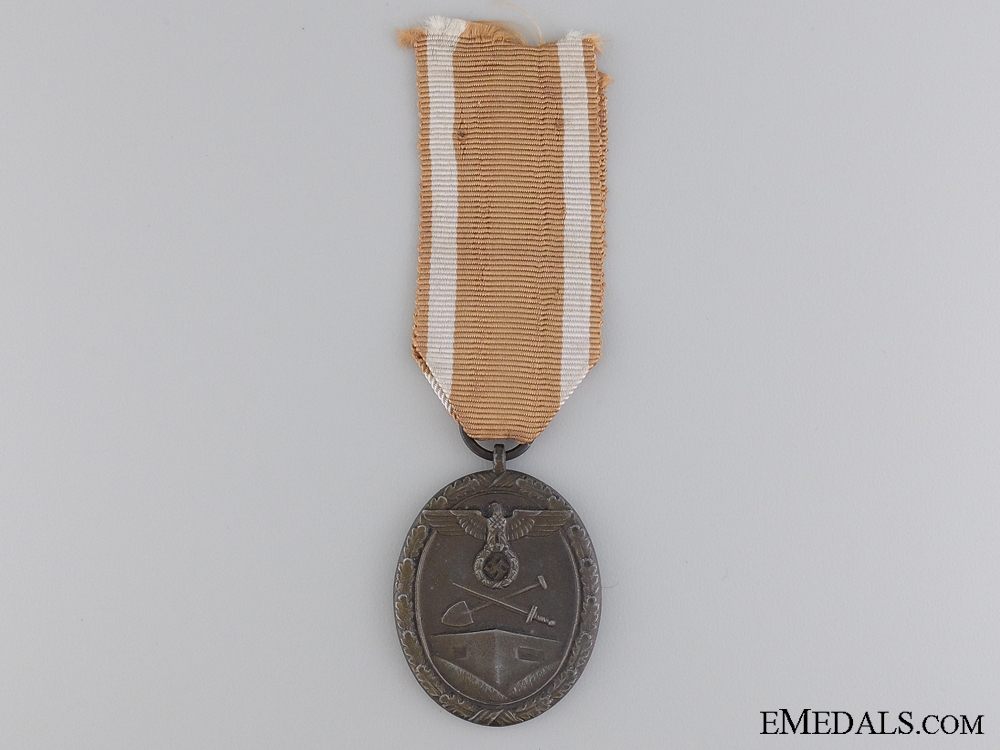 A Second War West Wall Medal