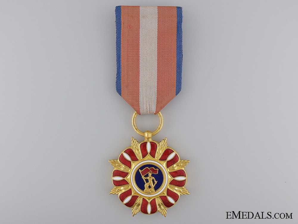 A Seldom Awarded Order of the Construction of the Polish Republic