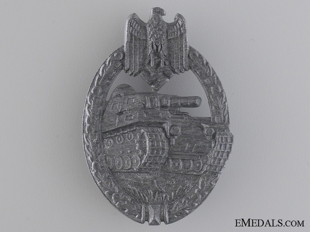 A Silver Grade Tank Badge by Friedrich Linden, Lüdenscheid