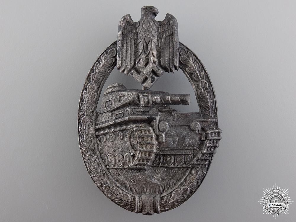 A Silver Grade Tank Badge by Aurich