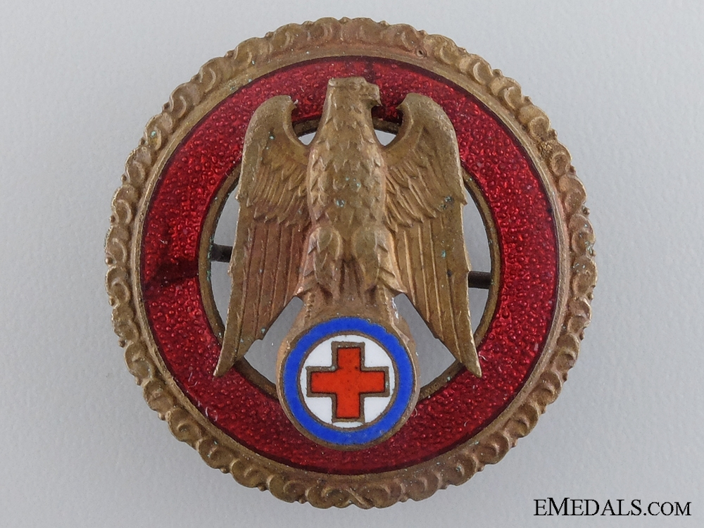 A Slovak Red Cross Five Years' Exemplary Service Badge
