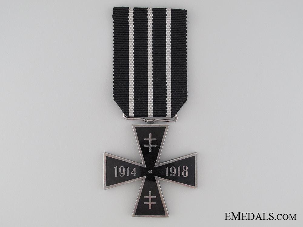 A Slovakian Great War Cross; 4th Class