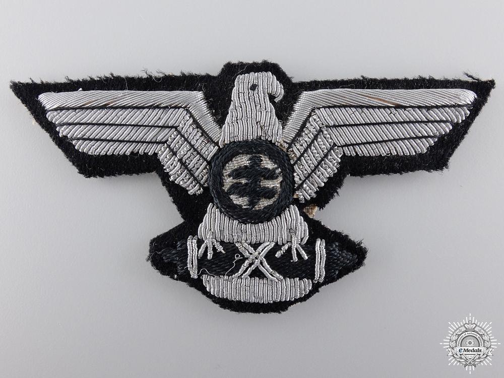 A Slovakian Hlinka Guards Officer's Cap Eagle