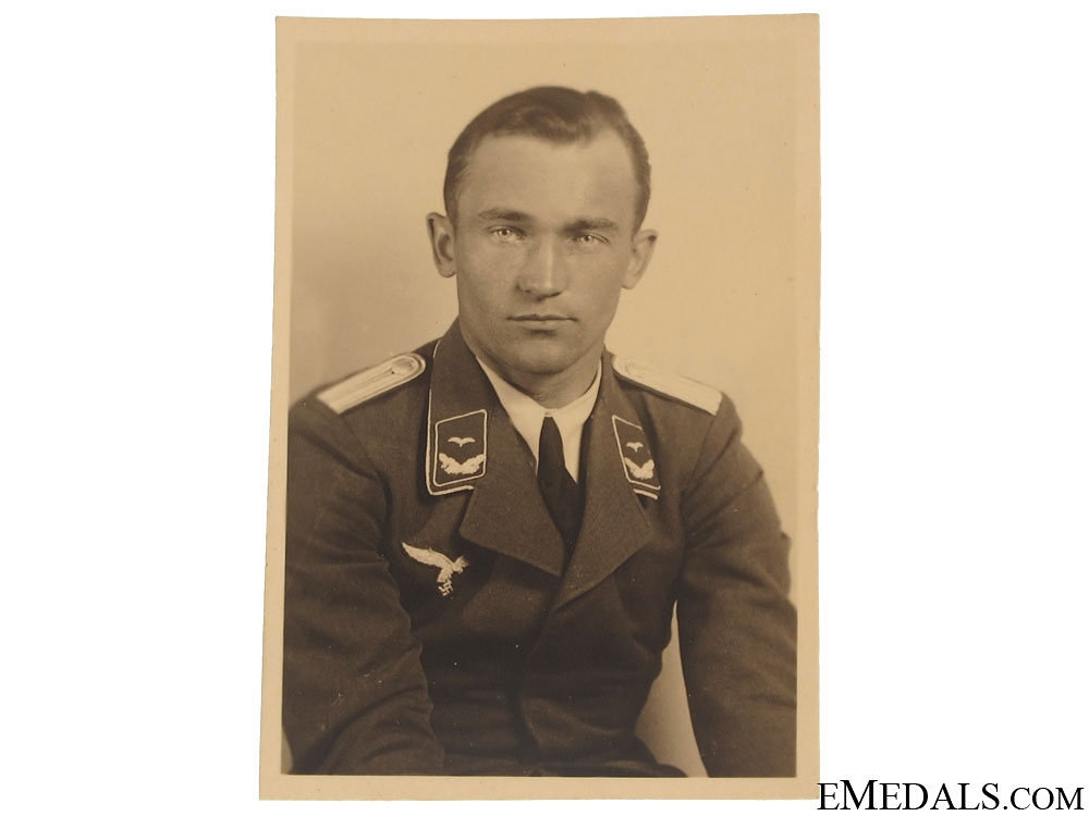 A Small Portrait Photo of Eduard 'Edu' Neumann