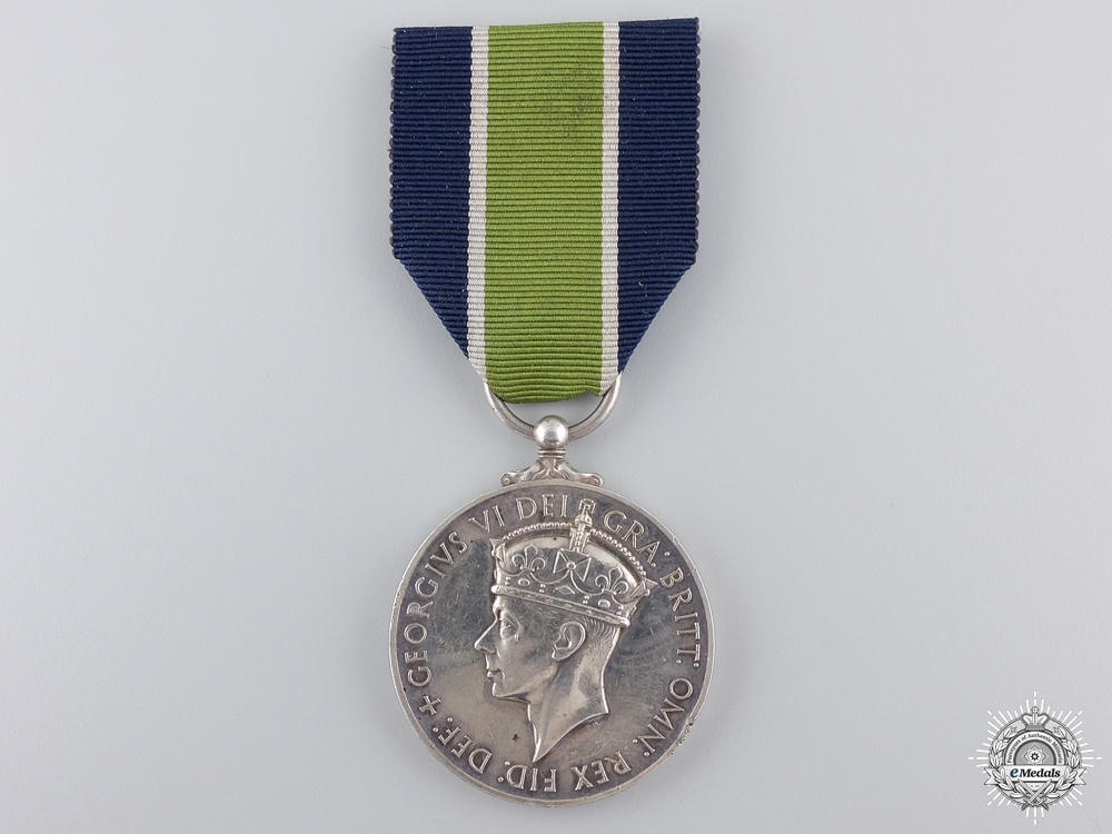 A South African Colonial Police Long Service Medal