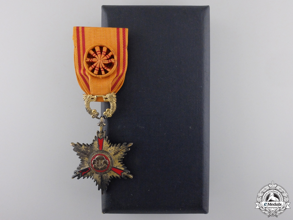 A South Korean Order of Service Merit; Fourth Class