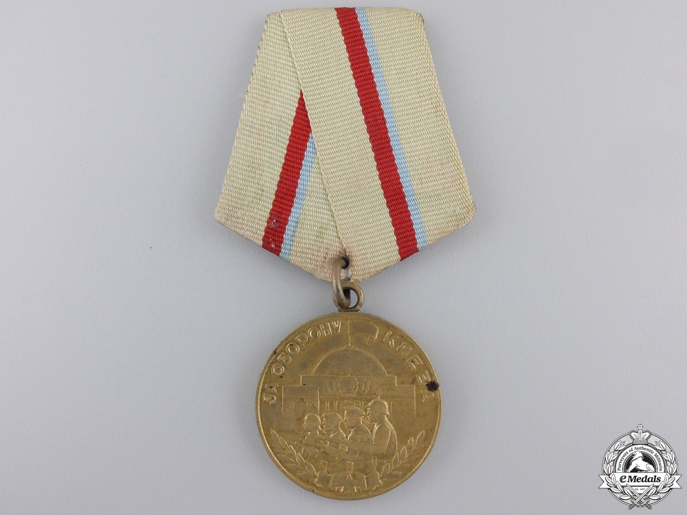 A Soviet Medal for the Defence of Kiev