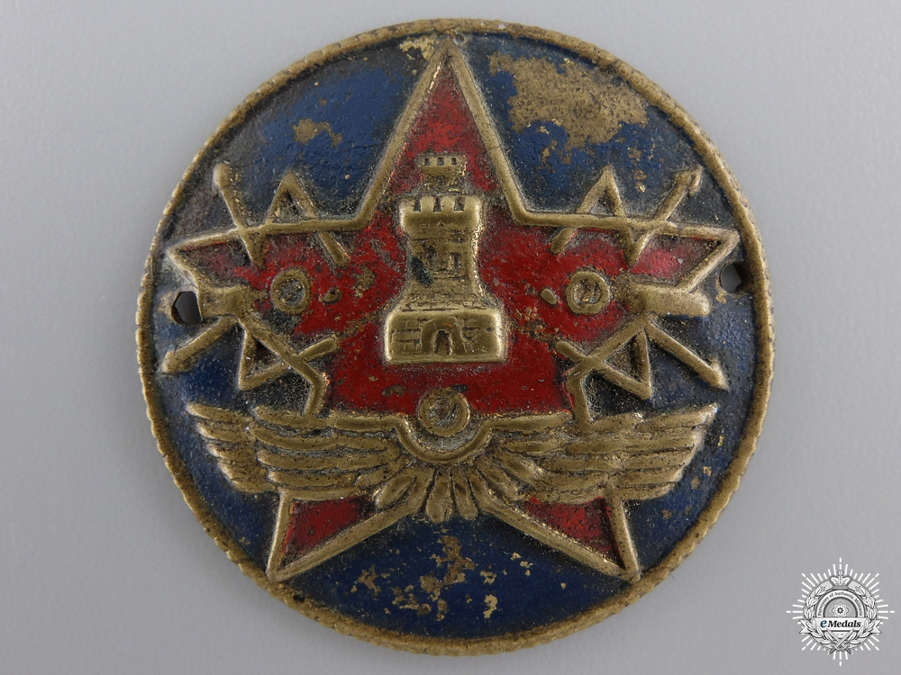 A Spanish Civil War Republican Radio Operator Badge
