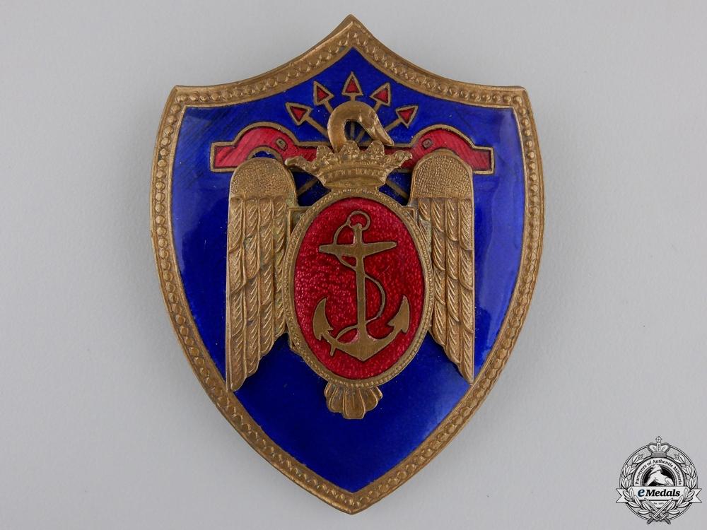 A Spanish Falange Naval Air Force Badge