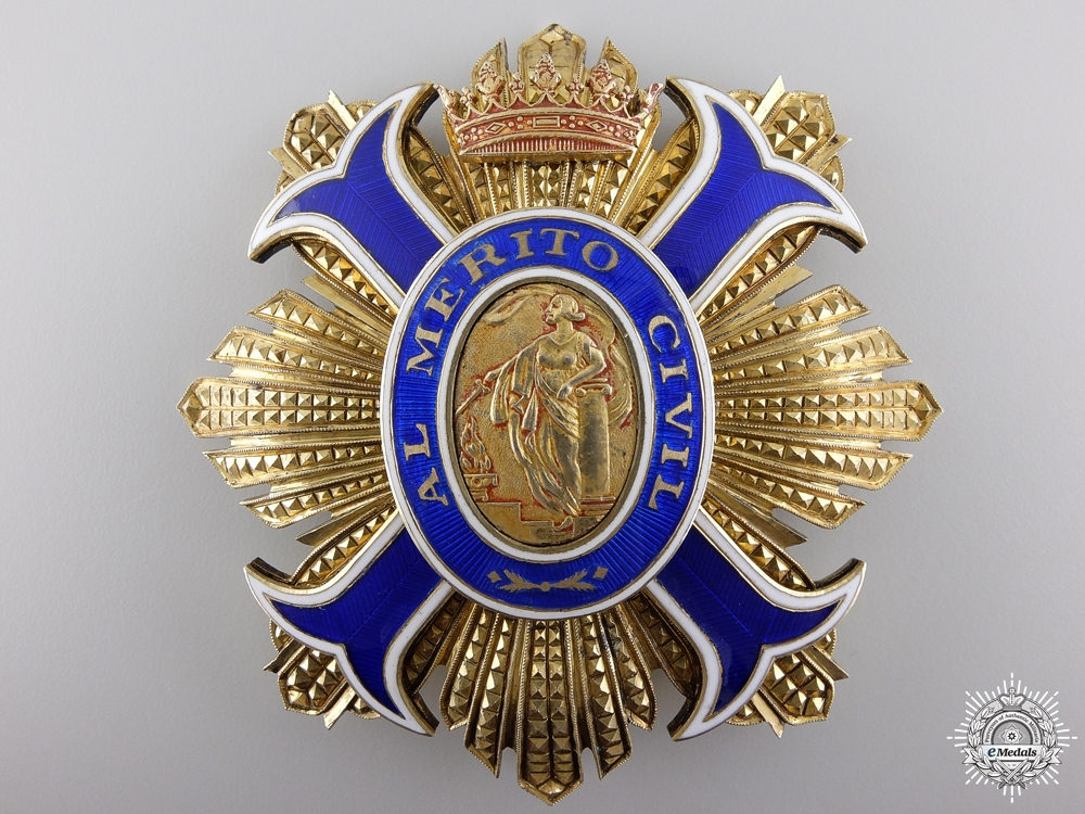 A Spanish Order of Civil Merit; Grand Cross