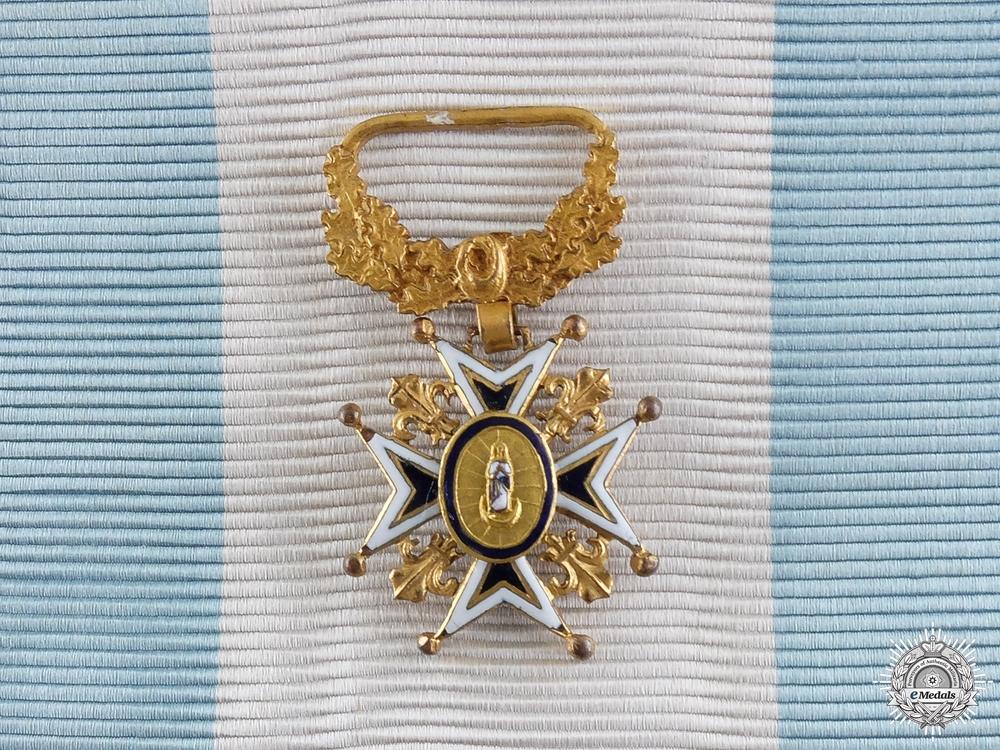 A Spanish Order of Charles III; Grand Cross