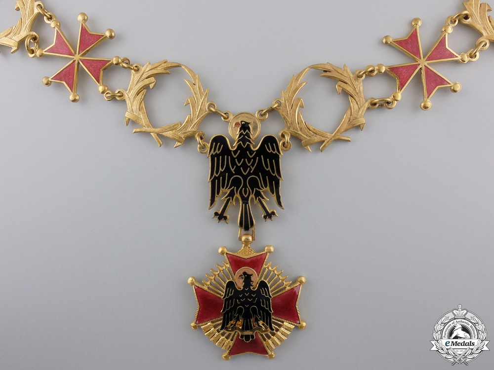 A Spanish Order of Cisneros; Franco Period Collar