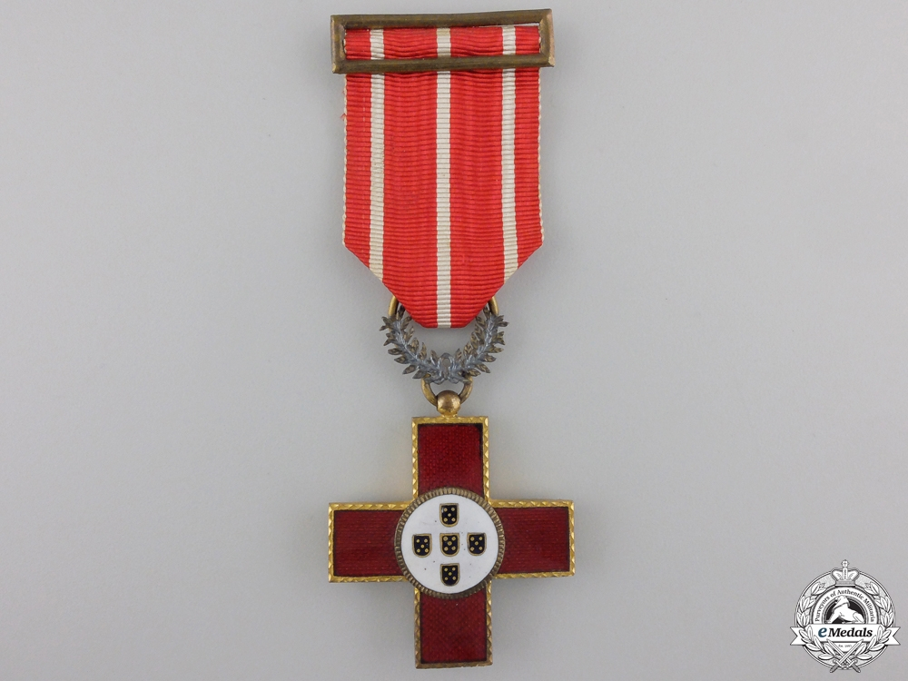 A Portuguese  Red Cross Decoration; Knight's Cross