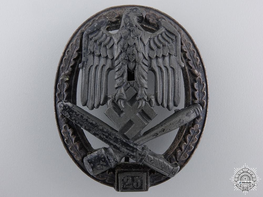 A Special Grade Assault Badge; Grade II (25) by Rudolf Karneth