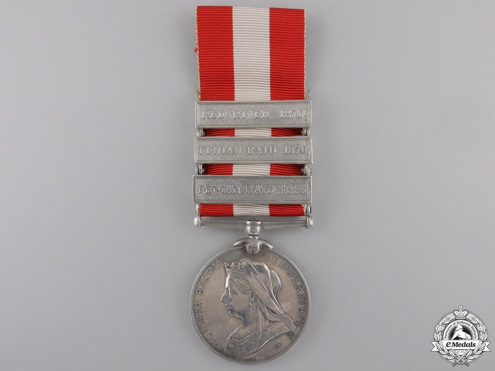 A Specimen Canada General Service Medal 1866-1870