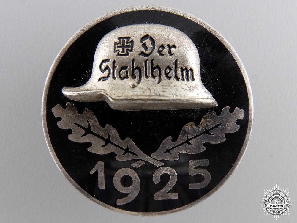 A Stahlhelm Veteran's Badge 1925