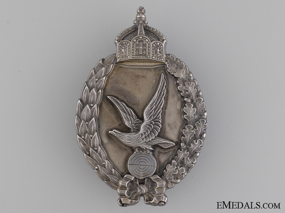 A Superb German WWI Period Air Gunner's Badge