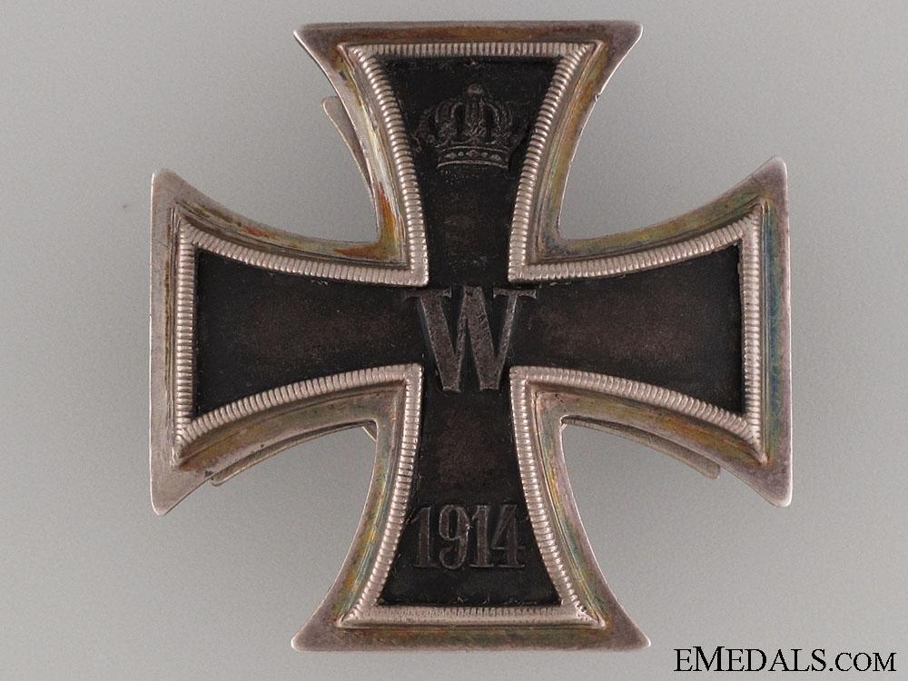A Superb Iron Cross 1st Class 1914