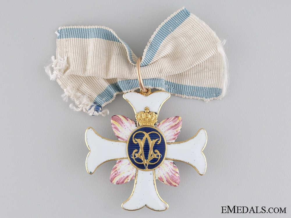 A Swedish Order of Vadstena Adliga; Ladies Cross