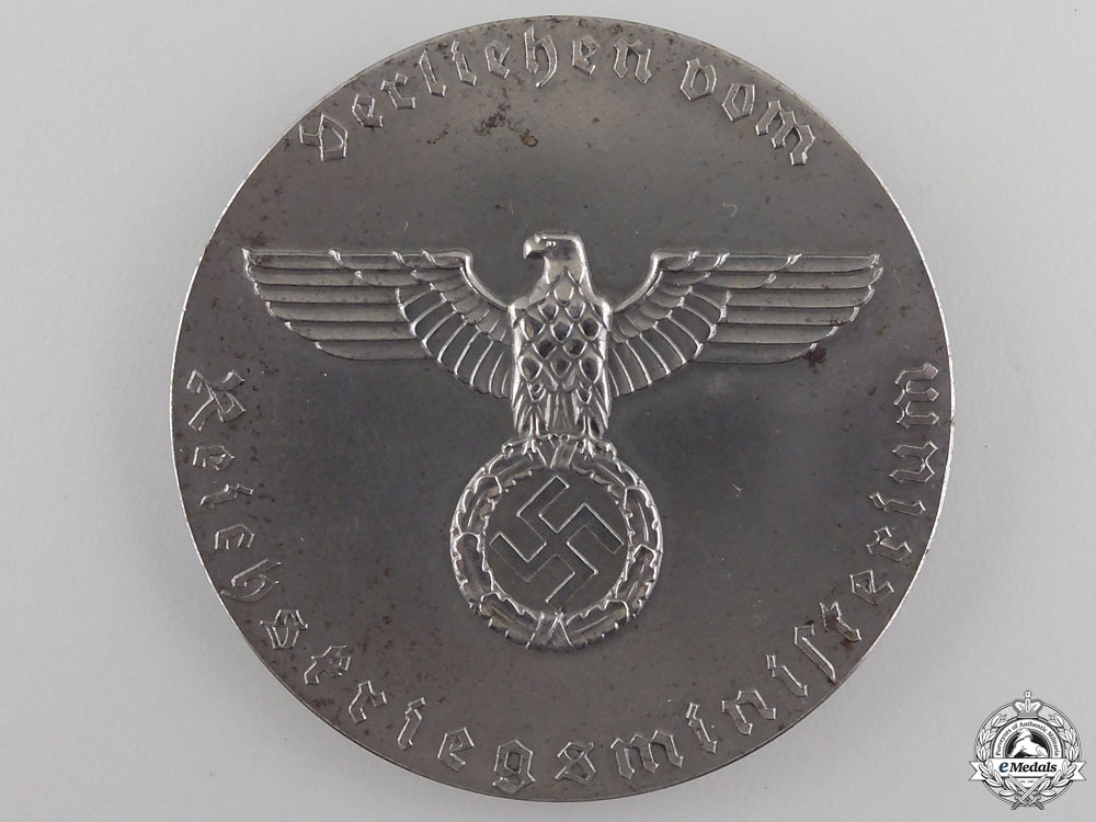 A Third Reich Pigeon Carrier Merit Medal