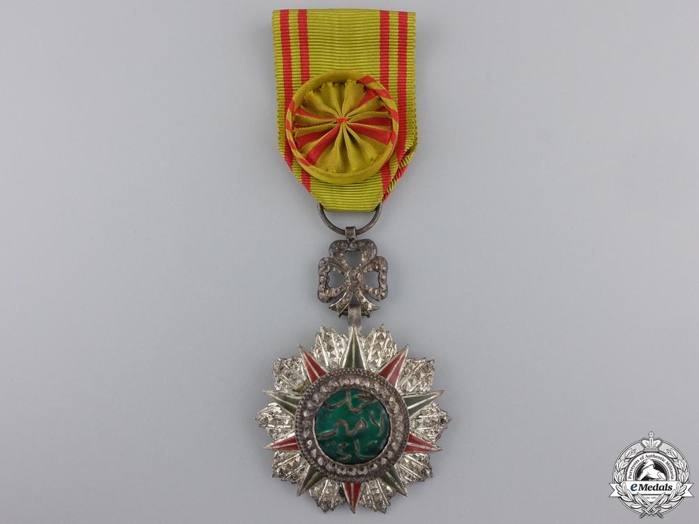 A Tunisian Order of Nishan el Iftikar; Named to Capt. Ross