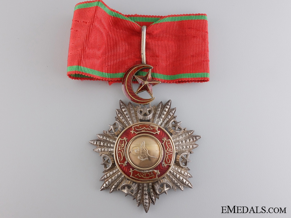 A Turkish Order of Medjidie (Mecidiye); Neck Badge
