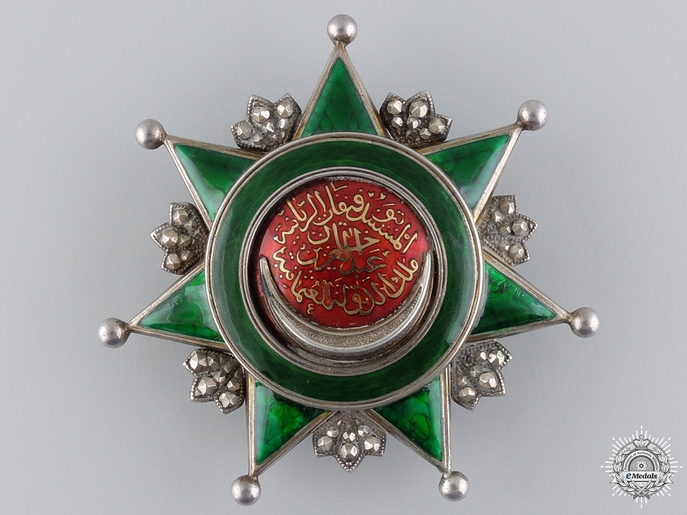 A Turkish Order of Osmania Badge