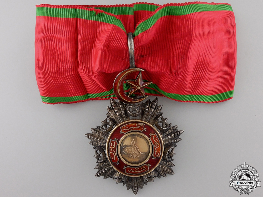 A Turkish Order of Medjidie; Third Class