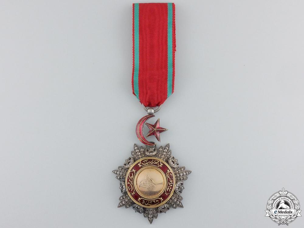 A Turkish Order of Medjidie (Mecidiye); Knight Breast Badge