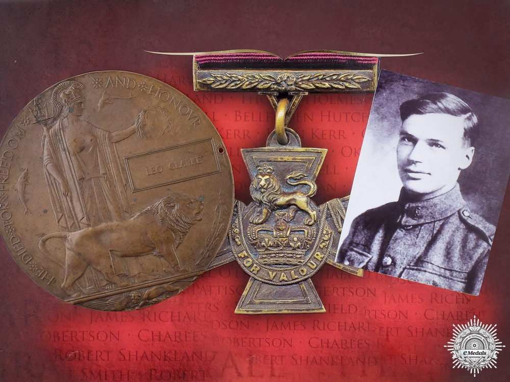 A Valour Road Victoria Cross Recipients Memorial Plaque