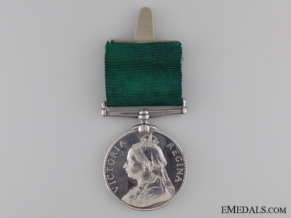 A Victorian Volunteer Service Long Service Medal