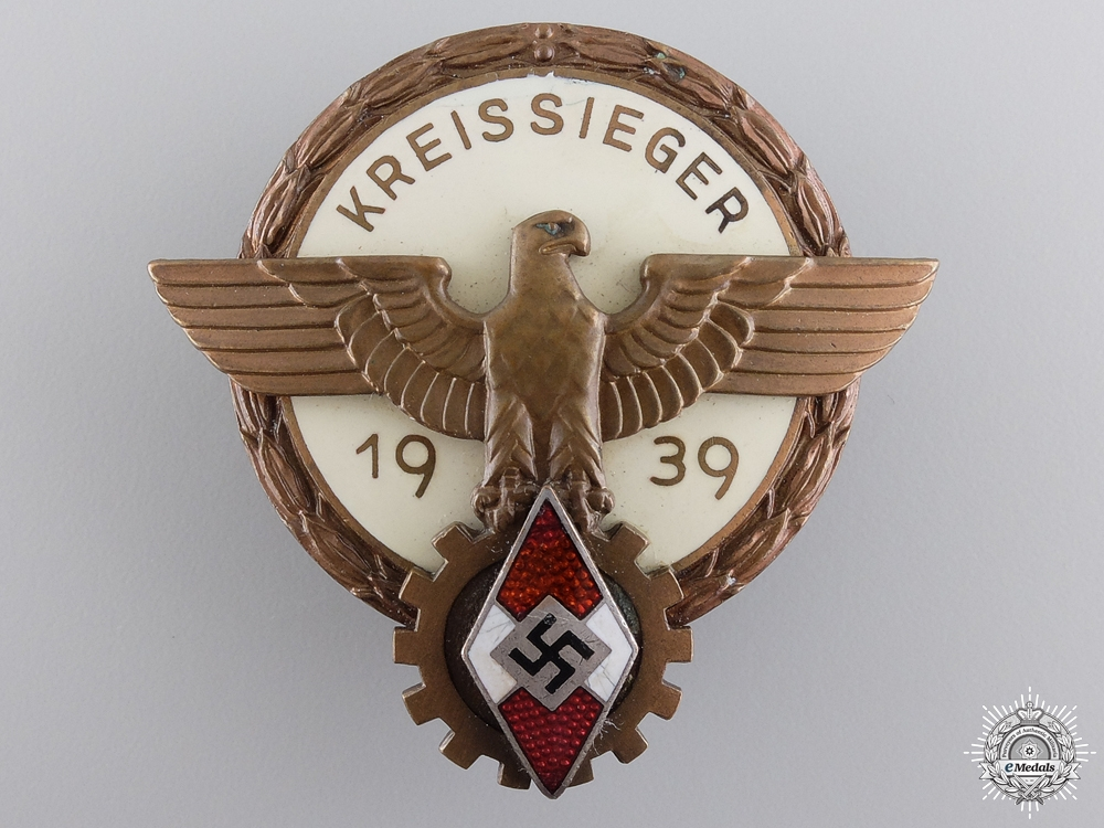 A Victors Badge in the National Trade Competition; 2nd Type