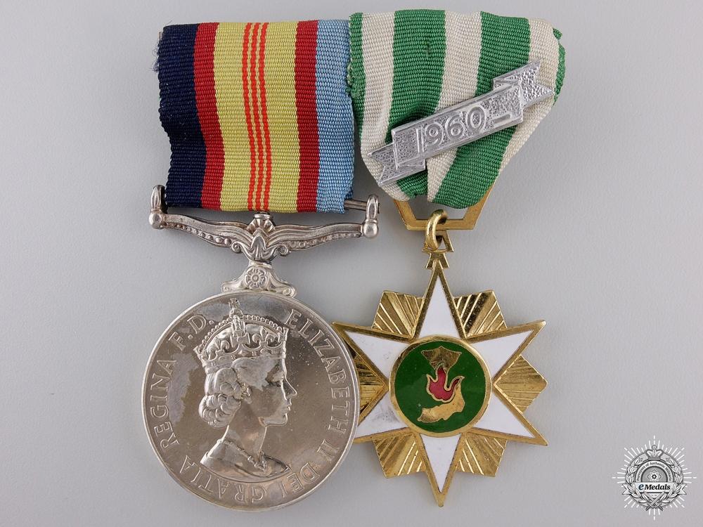 A Vietnam Medal Pair to the Royal Australian Regiment