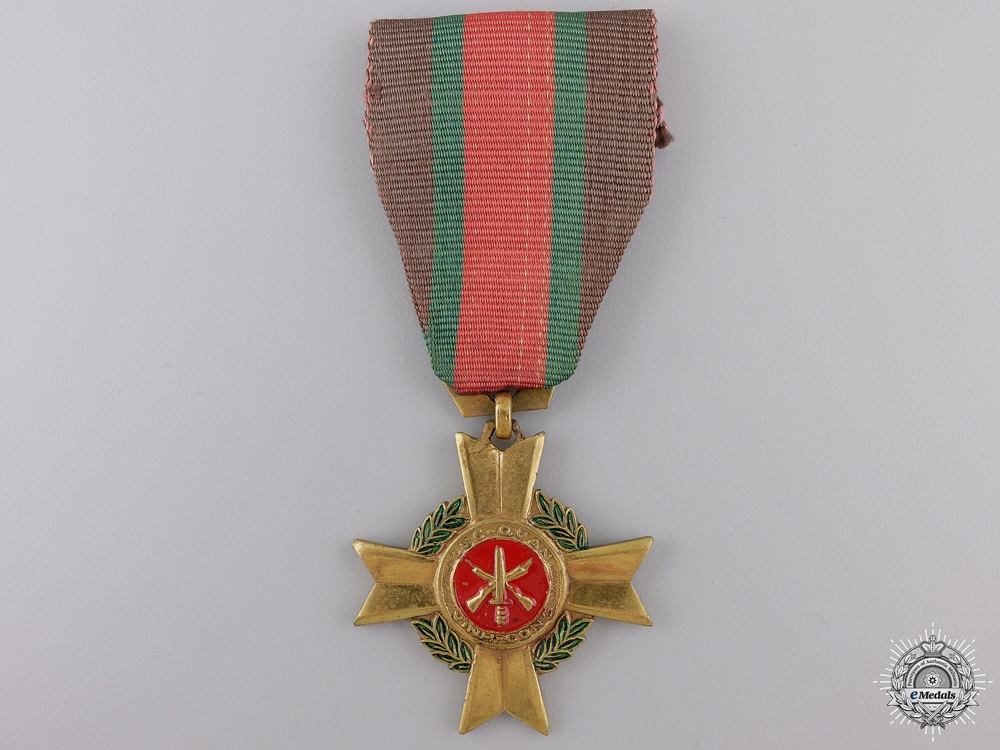 A Vietnamese Army Meritorious Service Medal; 2nd Class