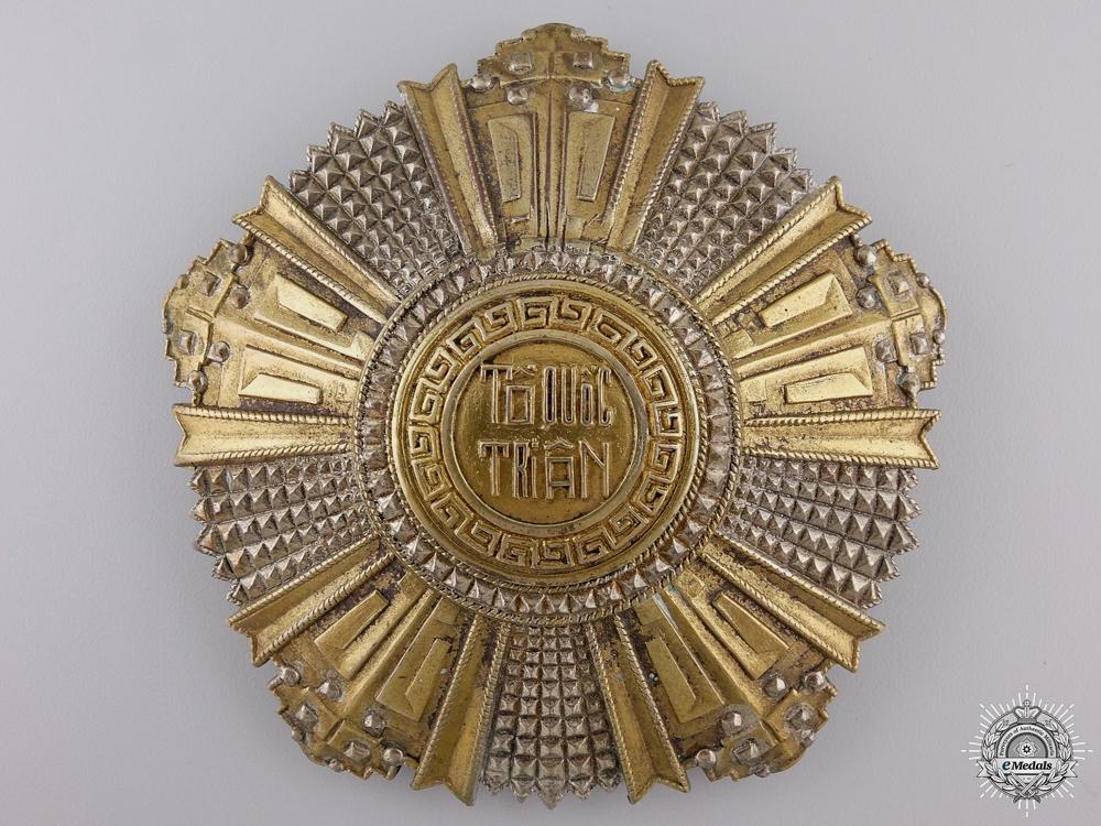 A Vietnamese National Order; 2nd Class Breast Star